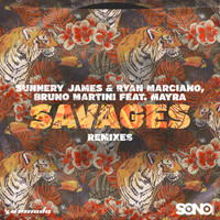 Thumbnail for the Sunnery James & Ryan Marciano - Savages (Remixes) link, provided by host site