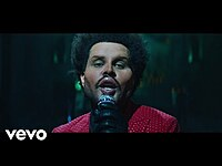 Thumbnail for the The Weeknd - Save Your Tears link, provided by host site