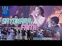 Thumbnail for the MNL48 - Sayonara Faith: MNL48 gets emotional as Faith says goodbye link, provided by host site