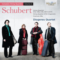 Thumbnail for the Franz Schubert - Schubert: Complete String Quartets vol. 5 link, provided by host site