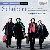 Thumbnail for the Diogenes Quartet - Schubert: Complete String Quartets, Vol. 6 link, provided by host site