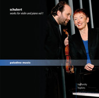 Thumbnail for the Franz Schubert - Schubert: Works for Violin and Piano, Vol. 1 link, provided by host site