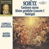 Thumbnail for the Cappella Augustana - Schütz Edtion, Vol. II: Cationtiones sacrae, Kleine geistliche Concerte & Madrigali link, provided by host site