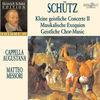 Thumbnail for the Cappella Augustana - Schütz: Schütz Edition, Vol. IV link, provided by host site