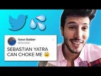 Thumbnail for the Sebastian Yatra - Sebastián Yatra Reads Thirst Tweets link, provided by host site