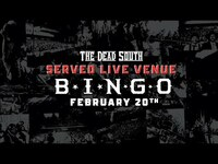 Thumbnail for the The Dead South - Served Live Venue Bingo link, provided by host site