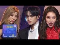 Thumbnail for the Sunmi - + Seul Gi + Dae Hwi - Heroine [2018 KBS Song Festival] link, provided by host site