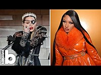 Thumbnail for the Megan Thee Stallion - Shares Thank You Letter, BTS Gets Candid, Madonna Gets Inked | Billboard News link, provided by host site