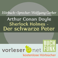 Thumbnail for the Sir Arthur Conan Doyle - Sherlock Holmes - Der schwarze Peter link, provided by host site