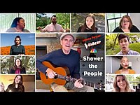 Thumbnail for the James Taylor - Shower The People - Live on The Voice link, provided by host site