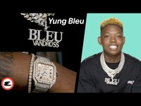 """Thumbnail for the Yung Bleu - Shows The Necklace that Makes Him Feel Like """"The Man""""   Curated   Esquire link, provided by host site"""