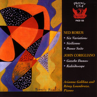 Thumbnail for the Ned Rorem - Sicilienne for Two Pianos (Produced) - Produced link, provided by host site
