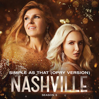 Thumbnail for the Nashville Cast - Simple As That (Opry Version) link, provided by host site