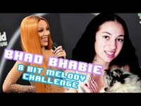 Thumbnail for the Bhad Bhabie - Sings Doja Cat, Ariana Grande, Drake And More! | 8 Bit Melody Challenge | Seventeen link, provided by host site