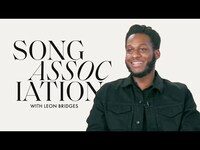"""Thumbnail for the Leon Bridges - Sings Miguel, Usher, and """"Don't Worry"""" In a Game of Song Association 