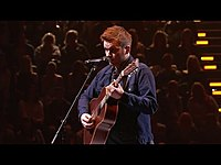 Thumbnail for the Joe Moore - Sings Scars | The Voice Australia 2015 link, provided by host site