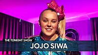 """Thumbnail for the JoJo Siwa - Girlfriend Encouraged Her to Post the """"Best Gay Cousin"""" T-Shirt Photo link, provided by host site"""