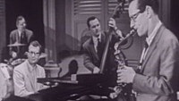 Thumbnail for the The Dave Brubeck Quartet - Smoke Gets In Your Eyes (Live On The Ed Sullivan Show, October 16, 1955) link, provided by host site