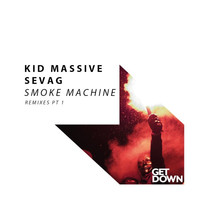 Thumbnail for the Kid Massive - Smoke Machine - Remixes Pt 1 link, provided by host site
