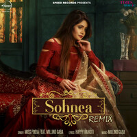 Thumbnail for the Miss Pooja - Sohnea (Remix) link, provided by host site