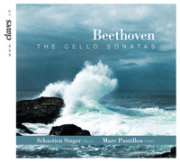 Thumbnail for the Sébastien Singer - Sonata No. 2 in G Minor for Cello and Piano, Op. 5 : Ia. Adagio sostenuto ed espressivo link, provided by host site