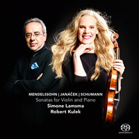 Thumbnail for the Simone Lamsma - Sonatas for Violin and Piano link, provided by host site