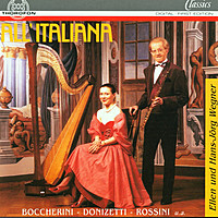 Thumbnail for the Luigi Boccherini - Sonate für Flöte und Harfe in C Major: I. Allegro spirito link, provided by host site