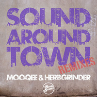 Thumbnail for the Mooqee - Sound Around Town (Remixes) link, provided by host site