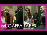 Thumbnail for the Ed Sheeran - Sparks an ODD Chat with Will and Kate?! link, provided by host site