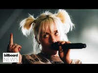 Thumbnail for the Billie Eilish - Speaks Out Against Texas Abortion Law At Austin City Limits 2021   Billboard News link, provided by host site