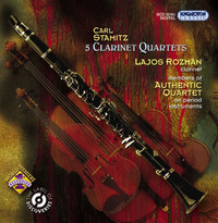 Thumbnail for the Carl Stamitz - Stamitz, C.: Clarinet Quartets, Opp. 14, 19 link, provided by host site