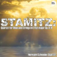 Thumbnail for the Hermann Schneider Quartet - Stamitz : Quartet for Oboe and Strings in E Flat major Op. 8/4 link, provided by host site