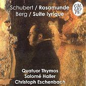 "Thumbnail for the Quatuor Thymos - String Quartet No.13, Op. 29, D. 804 ""Rosamunde Quartet"": IV. Allegro moderato link, provided by host site"