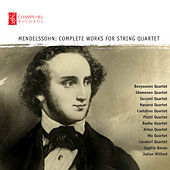Thumbnail for the Piatti Quartet - String Quartet No. 5 in E-Flat Major, Op. 44 No. 3, MVW. R 28: II. Scherzo: Assai leggiero vivace link, provided by host site