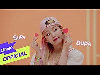 Thumbnail for the Oh My Girl - (오마이걸) SUPADUPA (천천히 해봐) link, provided by host site
