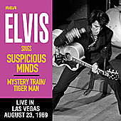 Thumbnail for the Elvis Presley - Suspicious Minds (Live in Las Vegas, August 23, 1969) link, provided by host site