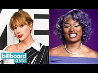 Thumbnail for the Megan Thee Stallion - Sweet Fan Surprise, Taylor Swift Sued By Theme Park & More   Billboard News link, provided by host site
