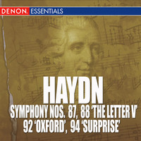 Thumbnail for the Bamberg Philharmonic Studio Orchestra - Symphony No. 87 in D Major, Hob. I-87: III. Menuet e trio link, provided by host site