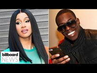 Thumbnail for the Cardi B - Talks New Album With Mariah Carey, Bobby Shmurda Released From Prison | Billboard News link, provided by host site