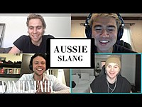 Thumbnail for the 5 Seconds of Summer - Teaches You Aussie Slang | Vanity Fair link, provided by host site