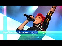 Thumbnail for the My Chemical Romance - Teenagers (Reading and Leeds 2011) link, provided by host site