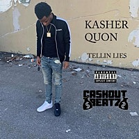 Thumbnail for the Kasher Quon - Tellin' Lies link, provided by host site