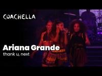 Thank u next live at coachella 2019 sunday april 21 2019 thumb