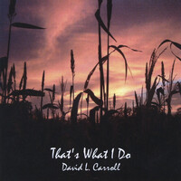 Thumbnail for the David Carroll - That's What I Do link, provided by host site