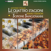 "Thumbnail for the Antonio Vivaldi - The 4 Seasons: Violin Concerto in G Minor, Op. 8, No. 2, RV 315, ""L'estate"" (Summer) (arr. S. Sangiovanni for piano): II. Adagio - Presto link, provided by host site"
