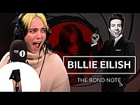 Thumbnail for the Billie Eilish - The Bond Note link, provided by host site