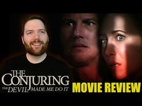 Thumbnail for the Chris Stuckmann - The Conjuring: The Devil Made Me Do It - Movie Review link, provided by host site