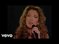 """Thumbnail for the Céline Dion - The First Time Ever I Saw Your Face (from the 1998 """"These are Special Times"""" TV special) link, provided by host site"""