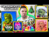 Thumbnail for the Nick DiRamio - The Grinch Musical on NBC was Pure Nightmare Fuel link, provided by host site