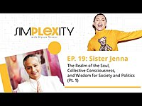 Thumbnail for the Alyson Stoner - The Realm of the Soul, Collective Consciousness & Wisdom for Society& Politics Pt. 1 link, provided by host site
